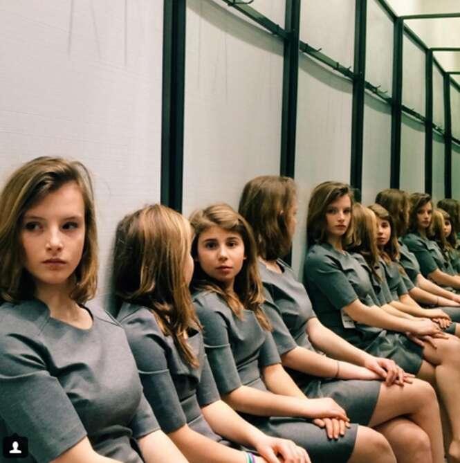 Você consegue acertar quantas meninas estão nesta foto?
