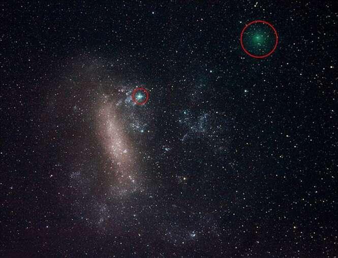 Cometa passará nesta terça-feira a uma das menores distâncias da Terra