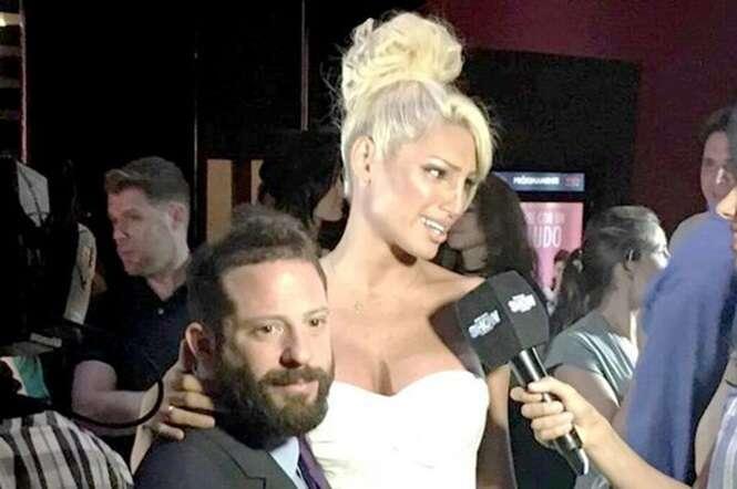 Modelo humilha noivo político após dizer em programa de TV que só ama homens feios
