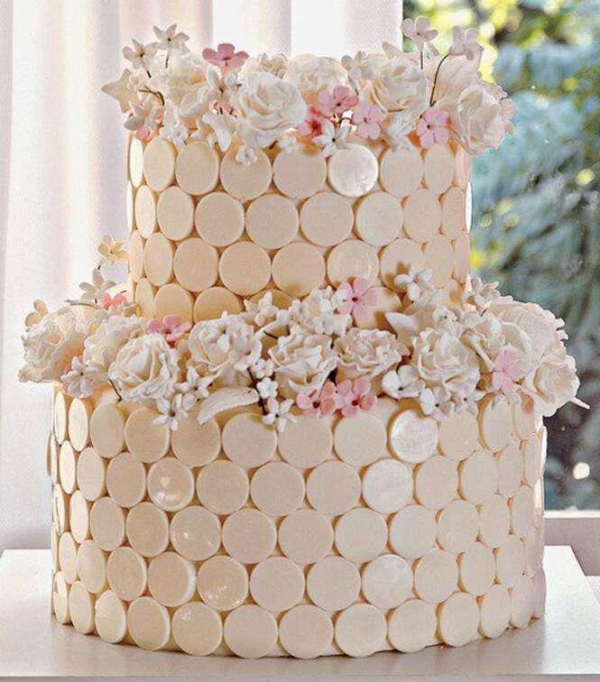 Lindos e deliciosos bolos de casamento