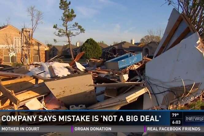 Empresa de demolição derruba casa errada e culpa Google Maps