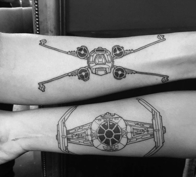 Tatuagens criativas para os Geek's