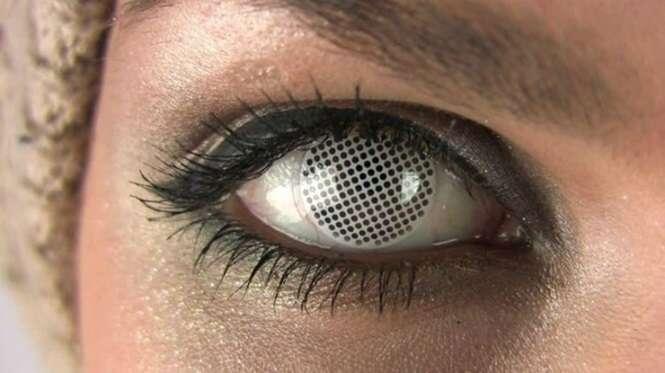 As mais estranhas lentes de contato