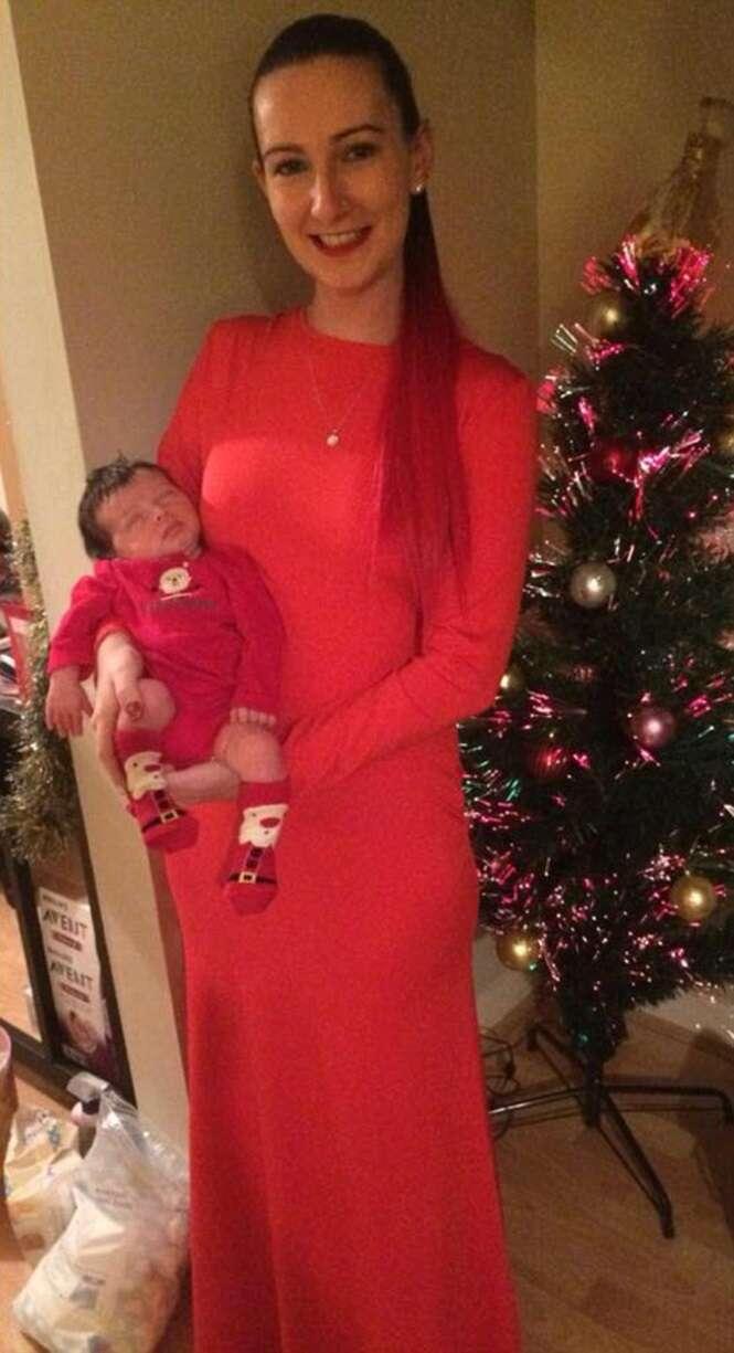 Heather e seu filho Diego. Foto: DailyMail