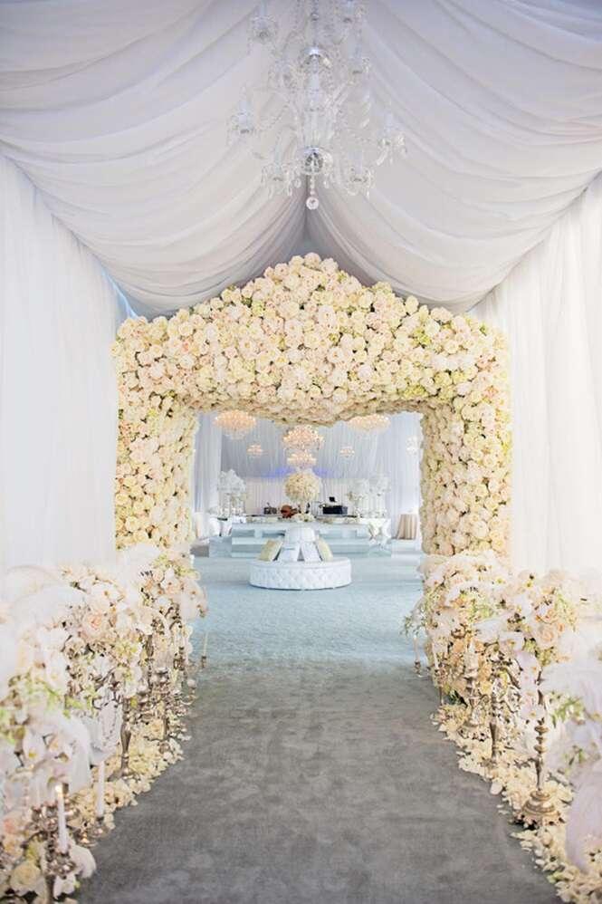Casamentos que chamaram atenção pelas flores