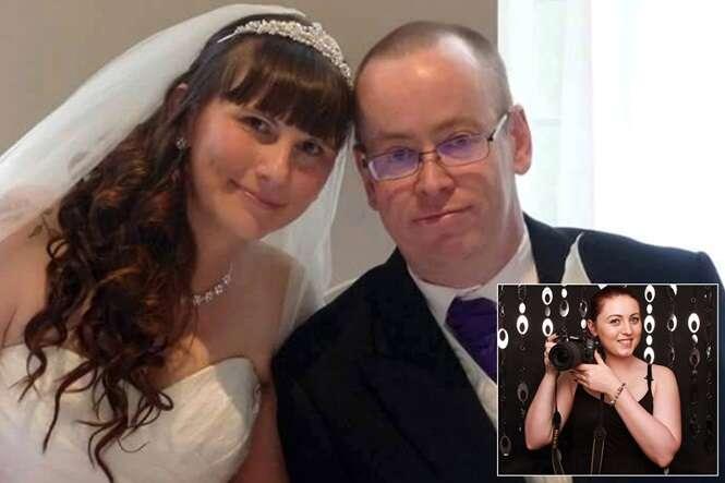 Noivos ficam devastados após fotógrafa arruinar álbum de casamento
