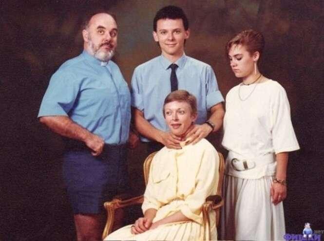 Fotos de família que vão te deixar constrangido