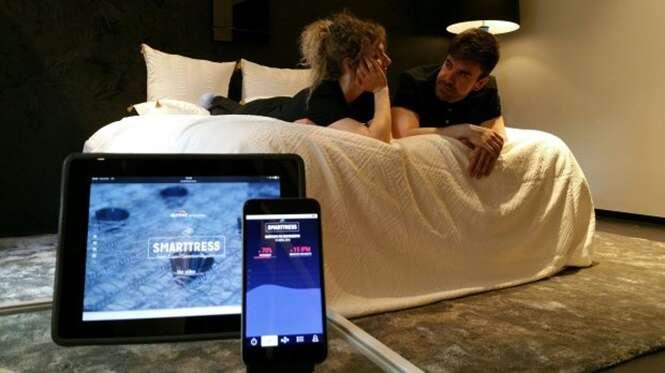 Colchão tecnológico descobre se parceiro está cometendo traição