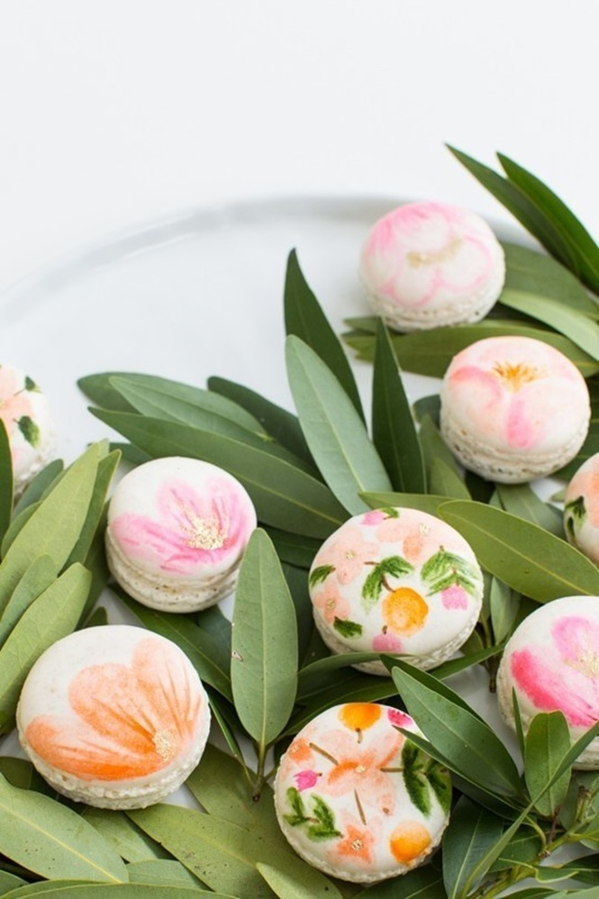 Fotos de sobremesas florais