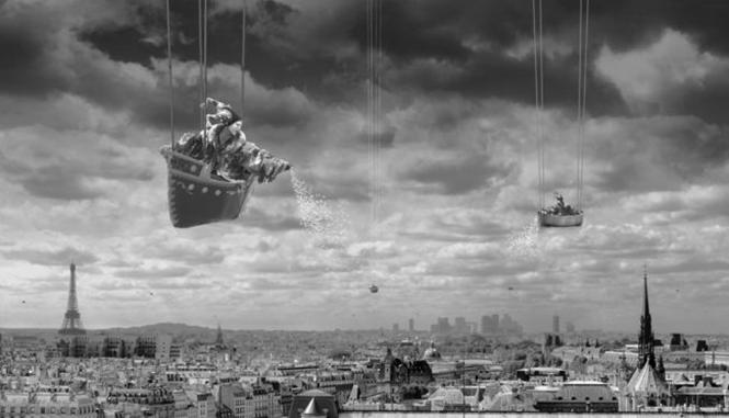 Artista mistura imagens criando composições incríveis