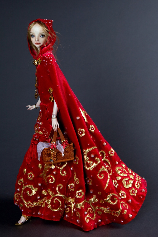 Artista russa cria incríveis e realistas bonecas de porcelana