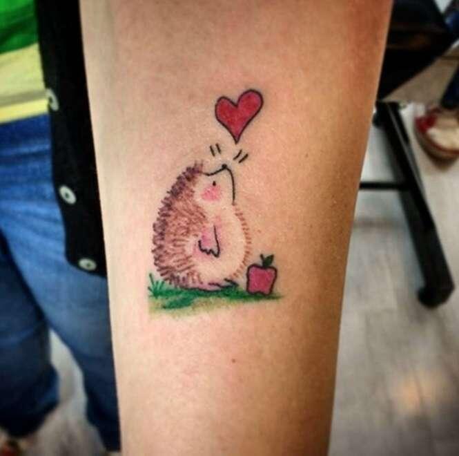 Tatuagens inspiradas em animais
