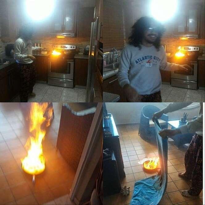 Pessoas que não se dão bem com a cozinha