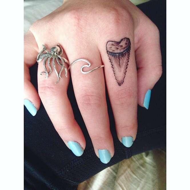 Belas tatuagens para quem gosta dos oceanos