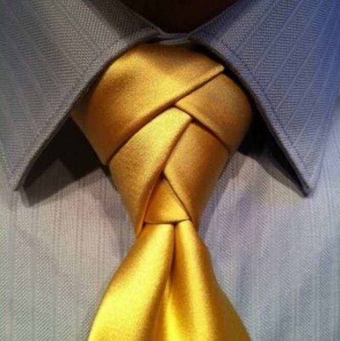 Tipos de nós de gravata que vão além do convencional