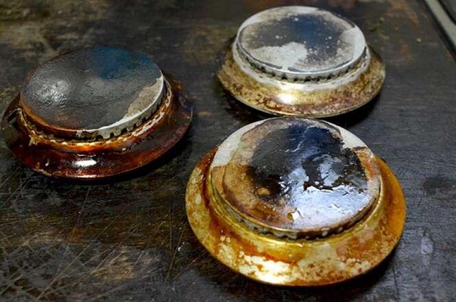 Como limpar as peças do fogão sem sofrimento