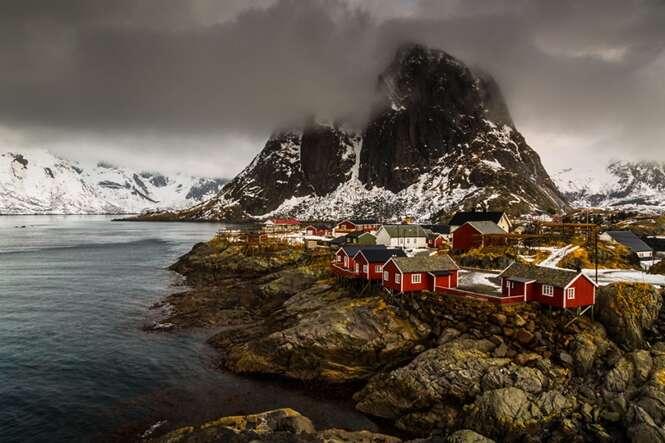 Lindas fotos demonstrando a beleza do inverno na Noruega