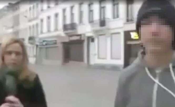 Repórter de TV é ataca ao vivo enquanto falava sobre ataques de Bruxelas