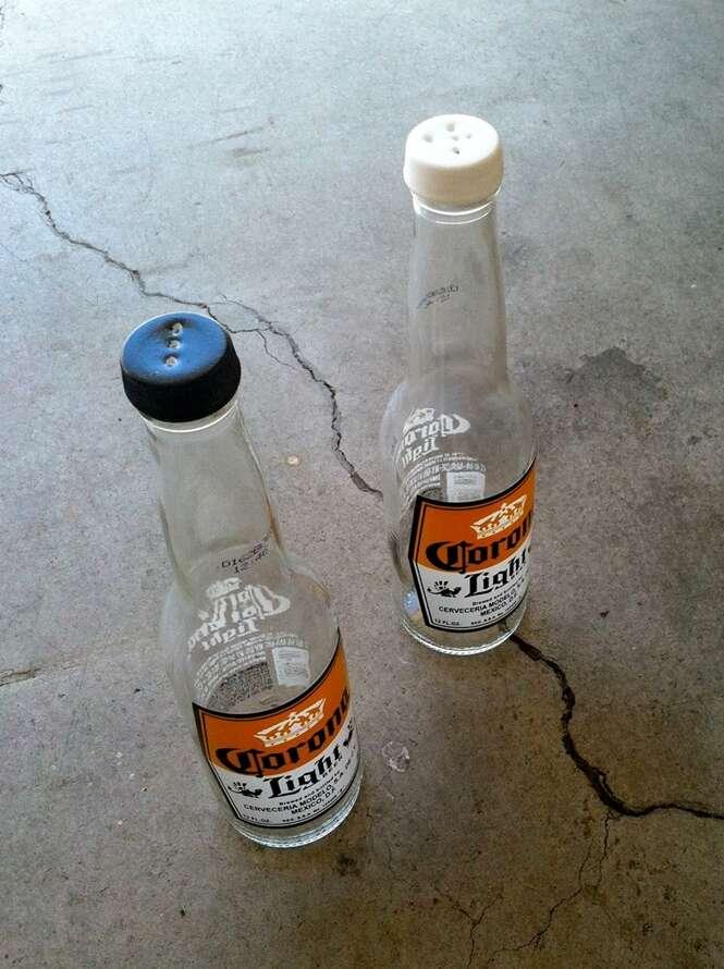 Dicas interessantes para fazer com garrafas vazias de cerveja
