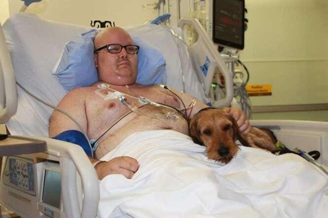 Hospital permite visitas de animais de estimação a donos doentes
