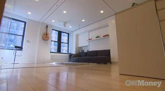 Apartamento pequeno aproveita cada centímetro com soluções incríveis