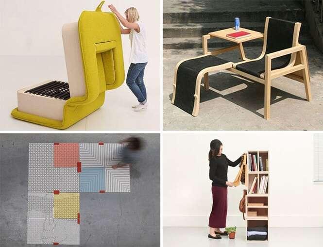 Tipos de móveis que se transformam em outra coisa