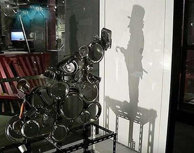 Peças de arte estranhas que geram sombras incríveis