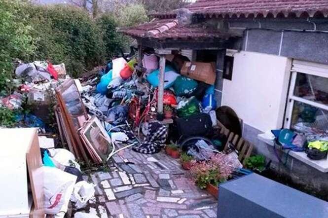 Compulsivo colecionador de lixo morre após montanha de entulho cair sobre ele