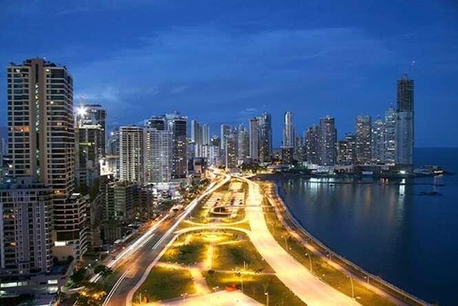 Imagens incríveis do céu em grandes cidades