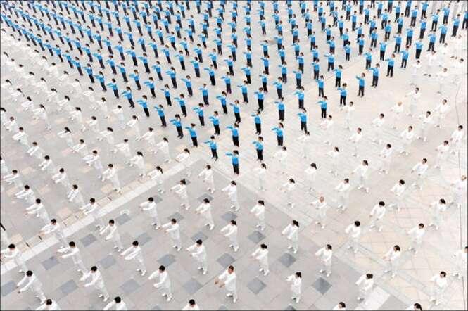 Fotos épicas da simetria chinesa