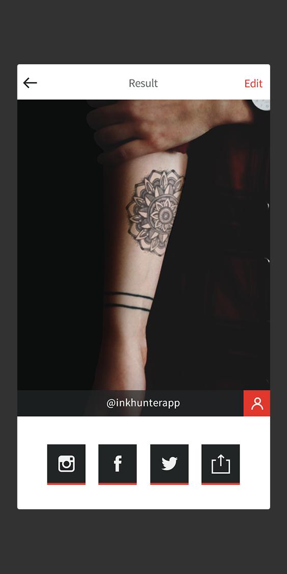 Aplicativo inovador permite testar como ficará tatuagem no corpo