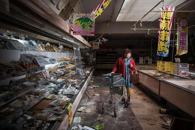 Fotos emocionantes mostram o que moradores de Fukushima encontraram ao retornar à cidade fantasma