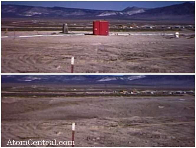 """Explosão nuclear subterrânea faz chão """"sumir"""" em segundos"""