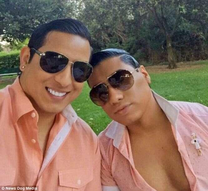 Homossexual é bancado pelo marido para ser dono de casa, cuidar da própria beleza e ostentar estilo de vida luxuoso