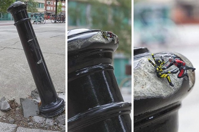 Pessoas que usaram criatividade para deixar áreas urbanas mais descoladas