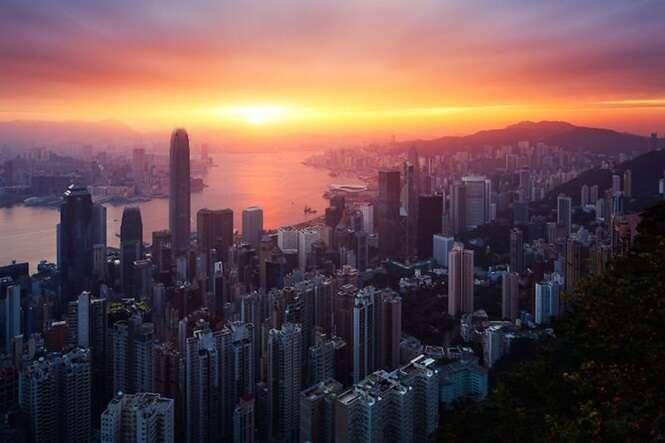 Incríveis fotos do nascer do sol em diferentes países
