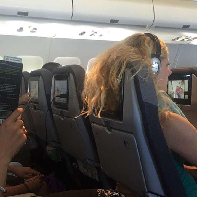 Passageiros que você não quer que se sentem perto de você