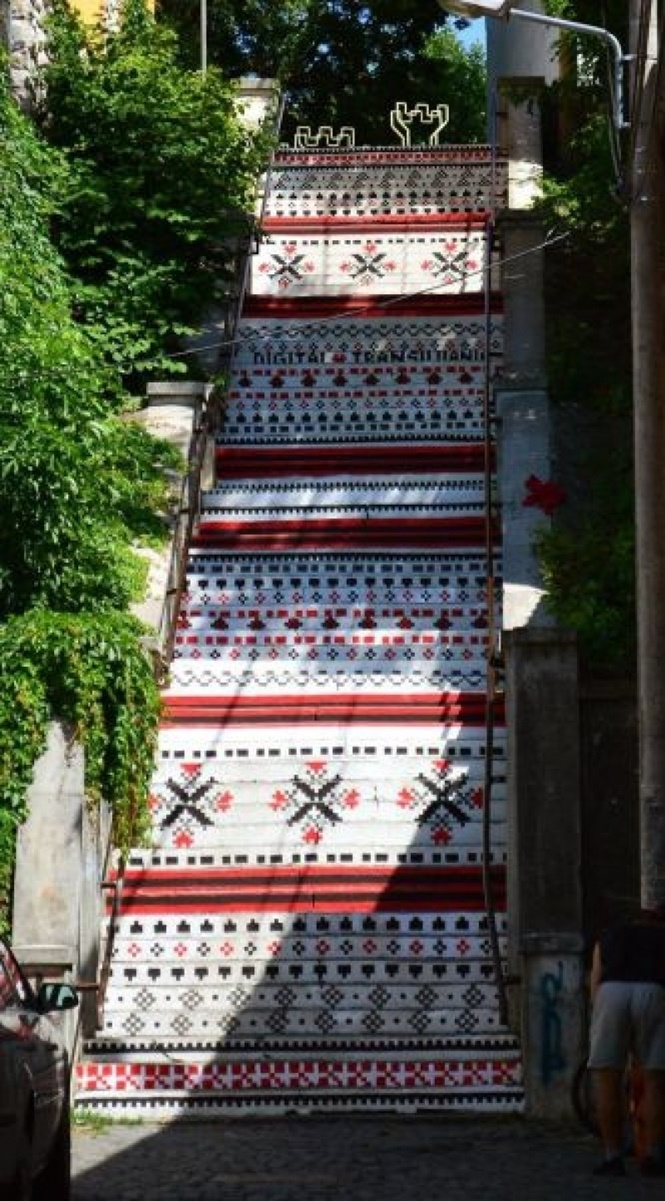 Escadas criativas e originais