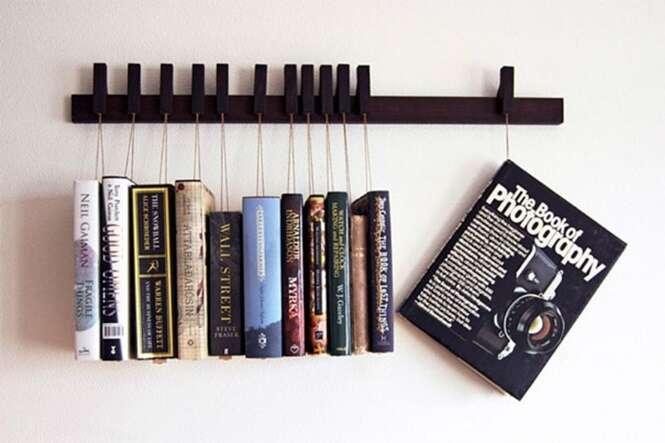 As mais criativas e incríveis estantes para livros