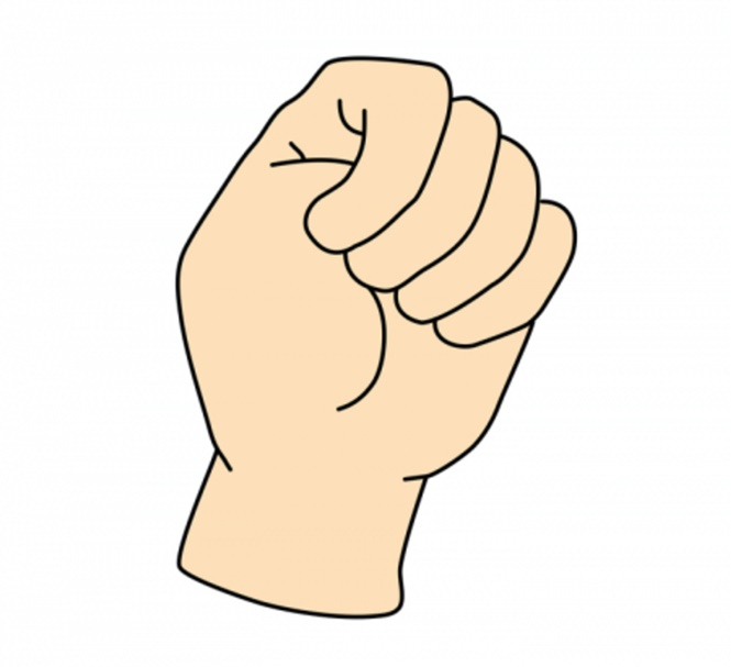 A forma como você fecha a mão pode dizer muito sobre sua personalidade
