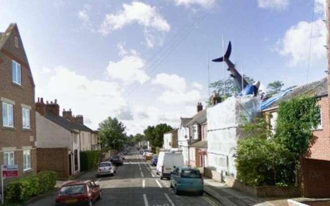 Fotos estranhas encontradas no Google Street View