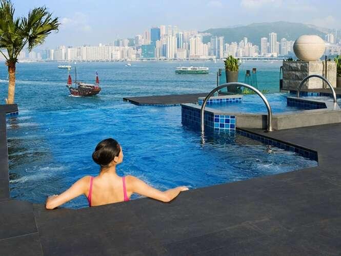 Foto:  Intercontinental Hotel, Hong Kong