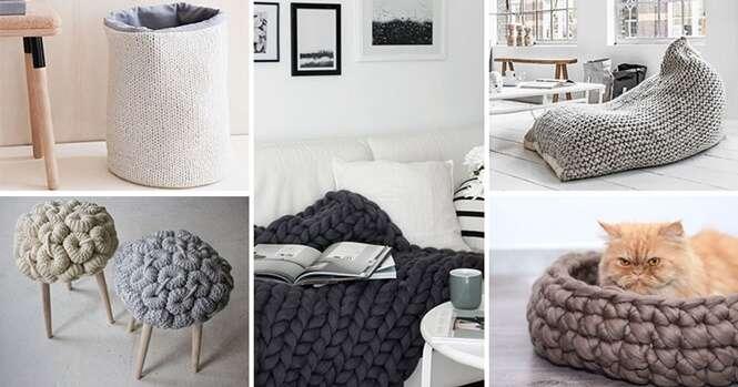 Maneiras de adicionar mais tecido à sua casa