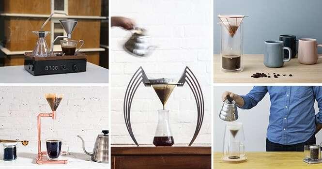 Coadores de café originais para sua cozinha