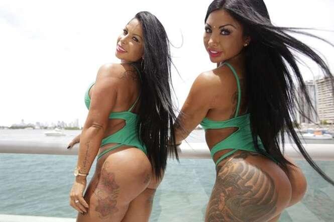 Gêmeas argentinas arrecadam mais de R$ 100 mil por mês postando fotos de seus bumbuns na internet