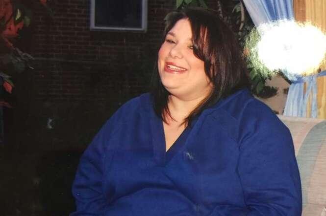 Viciada em fast food que pesava 140 quilos se casa após perder metade do peso