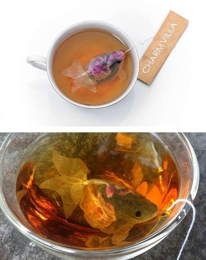 Os mais criativos saquinhos de chá