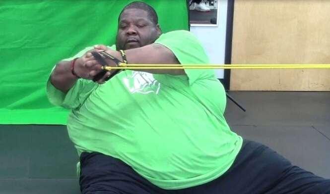 Obeso de 370 quilos que lutava para perder peso morre aos 40 anos
