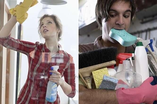 Dicas para manter sua casa limpa poupando tempo e dinheiro
