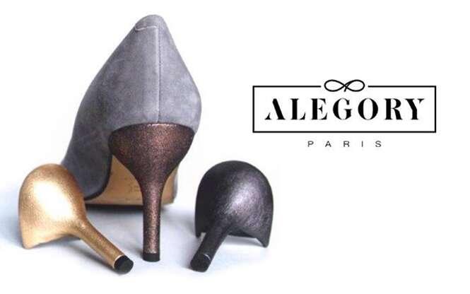 Empresa francesa cria linha de sapatos de salto alto removíveis